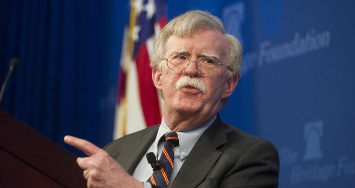 Assessor de Segurança Nacional dos EUA, John Bolton
