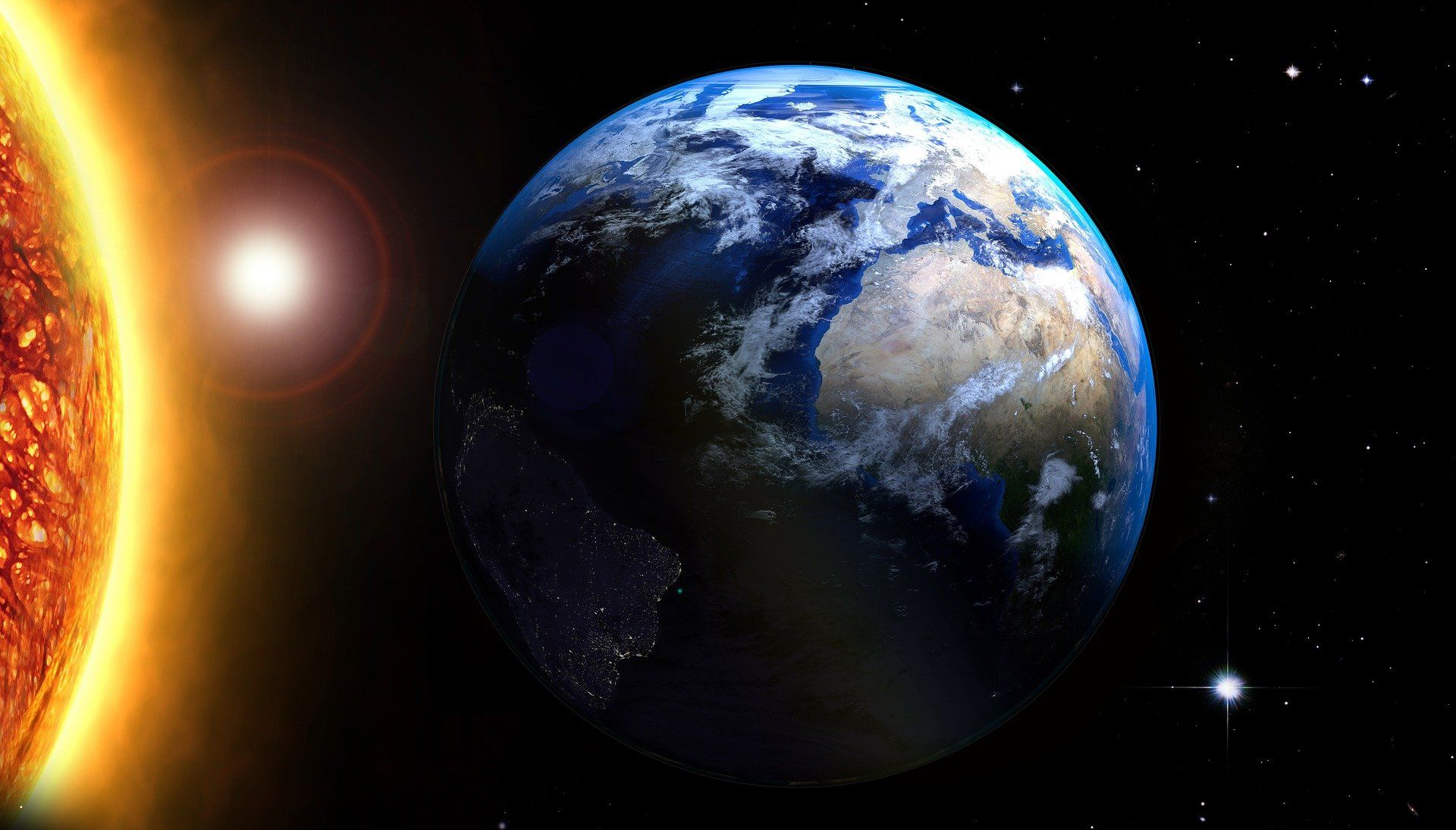 A Terra e o Sol (apresentação artística)