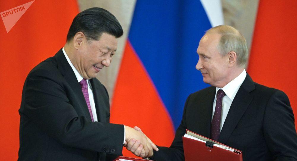 Presidente da Rússia Vladimir Putin participa de eventos realizados no âmbito da visita à Rússia do presidente da China Xi Jinping