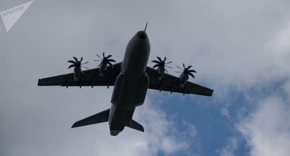 Avião de transporte militar Airbus A400M-100 (imagem referencial) [© Sputnik / Aleksei Vitvitsky]