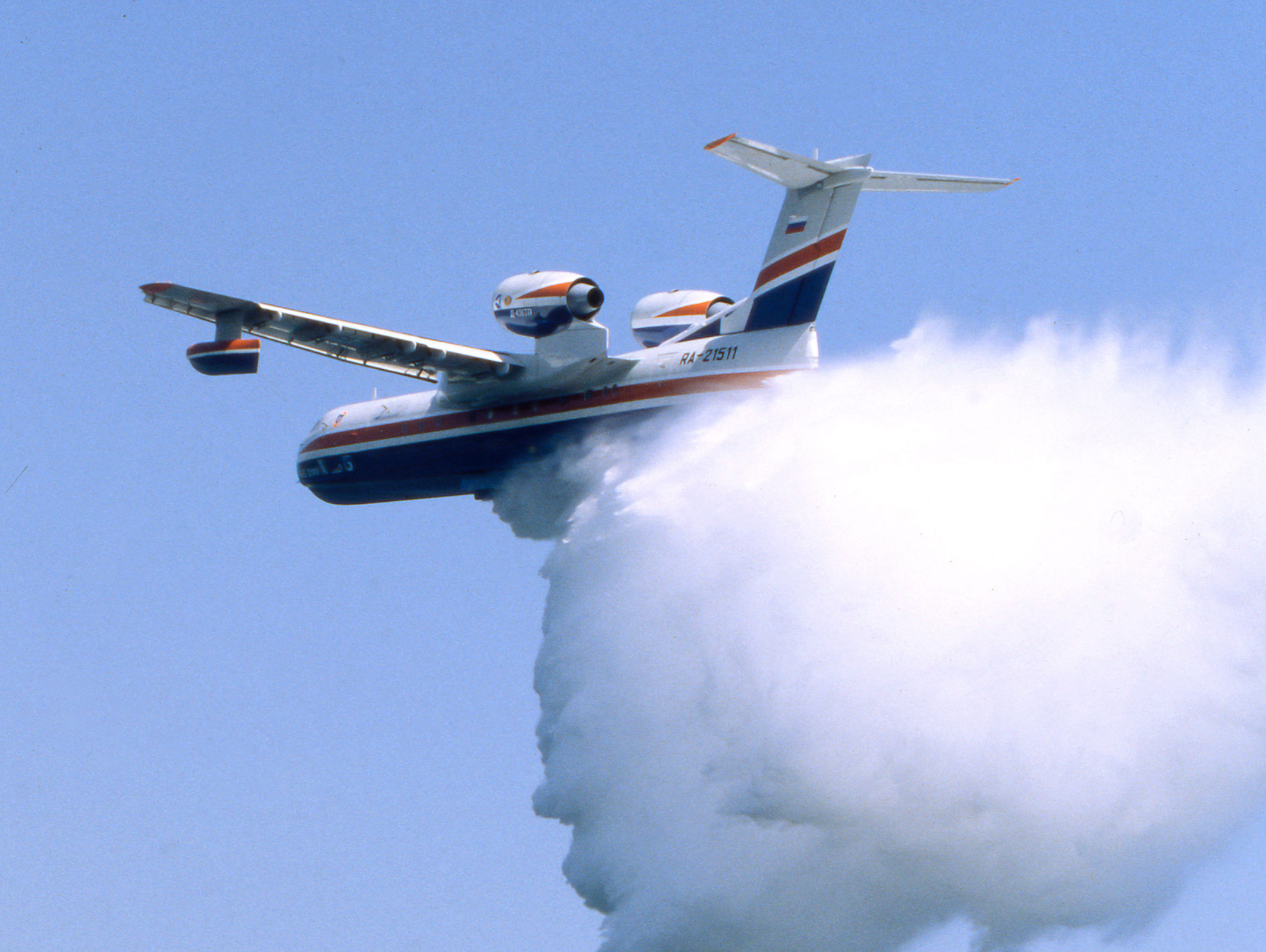 Avião anfíbio Be-200 (foto de arquivo)