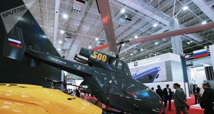 Protótipo do drone helicóptero BVS VT 500