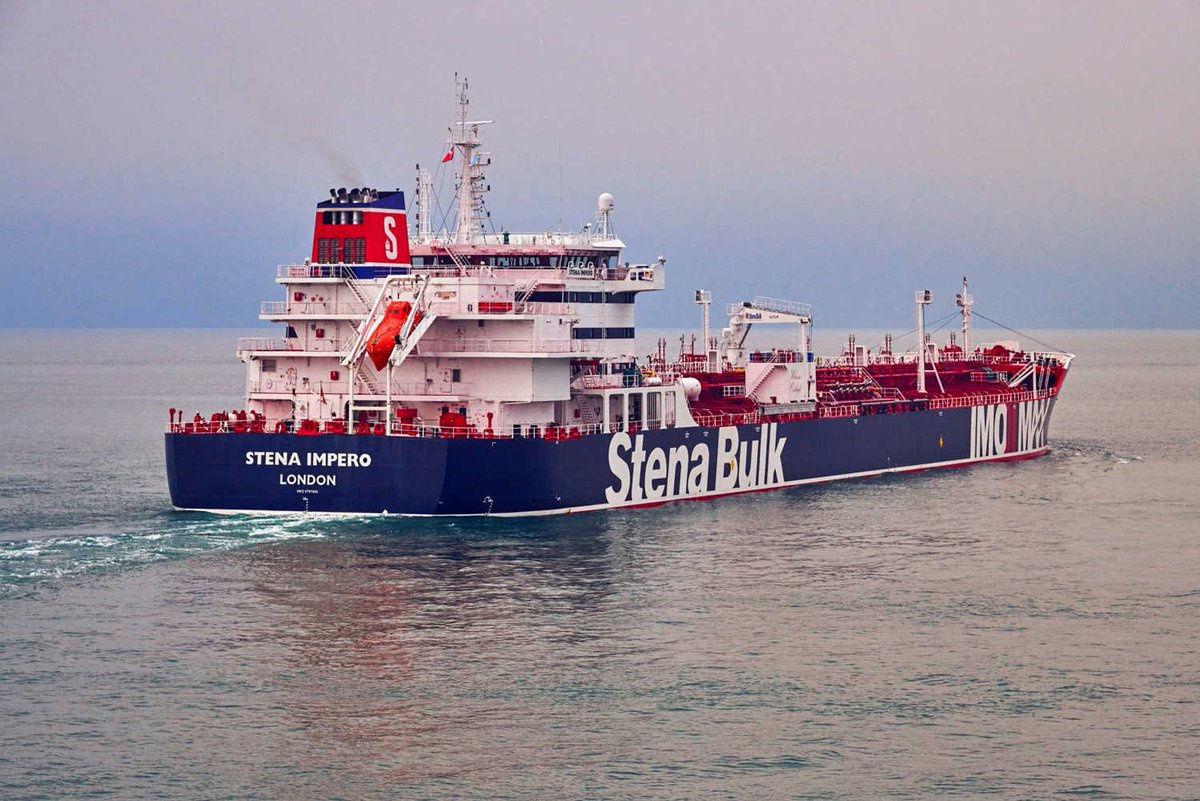 Stena Impero, petroleiro com bandeira britânica