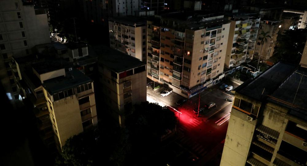 Visão geral de Caracas durante apagão, Venezuela, em 22 de julho de 2019