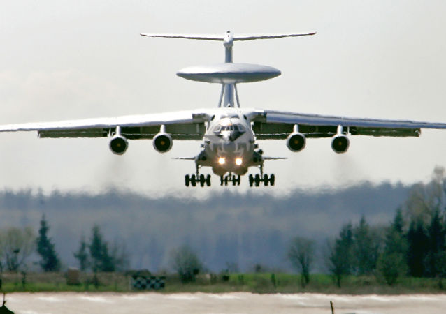 Avião-radar russo A-50