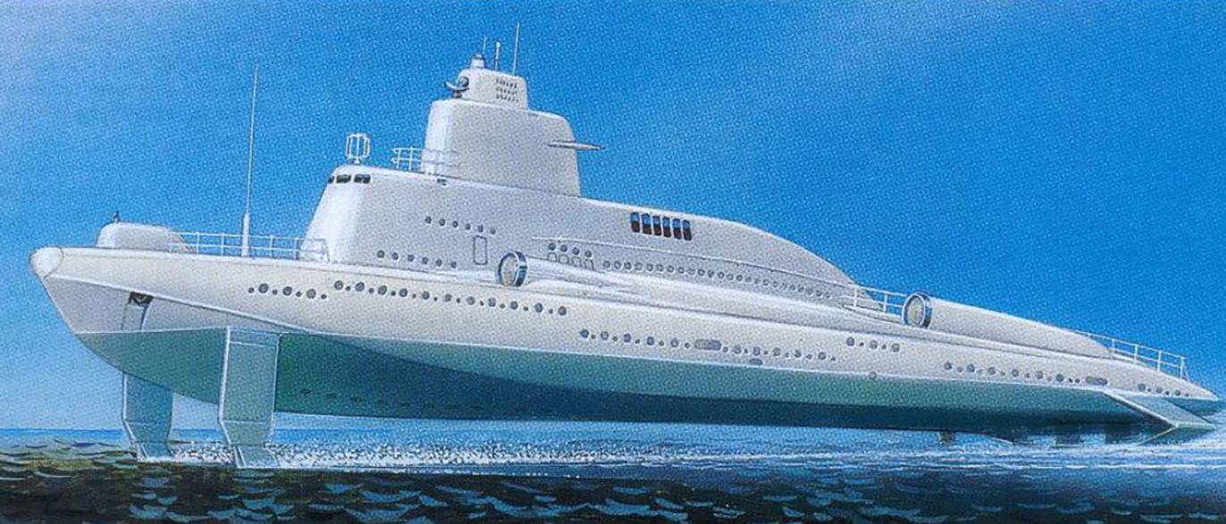 Navio do projeto 1231, chamado Dolphin