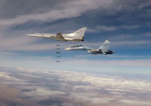 Bombardeiros russos de longo alcance Tu-22M3 atacam o Daesh (foto de arquivo)