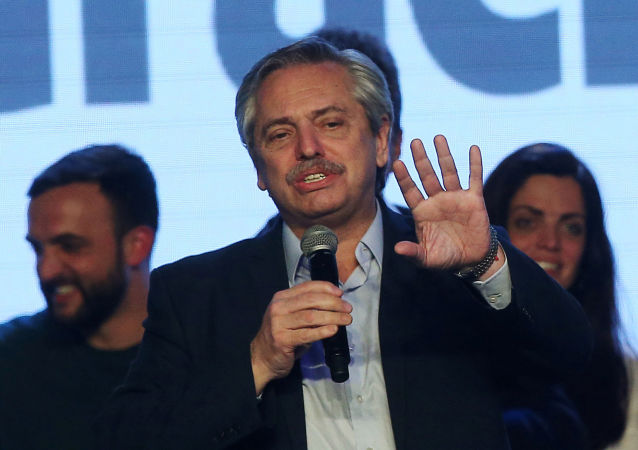 Alberto Fernández, candidato à Presidência da Argentina