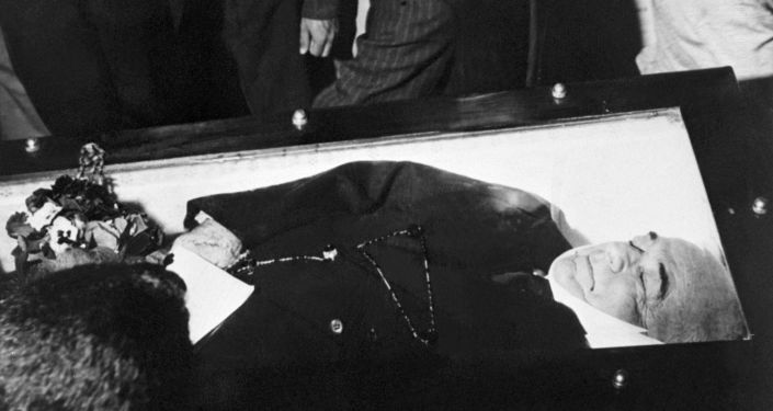 Funeral de Getúlio no Rio de Janeiro, em 30 de agosto de 1954.