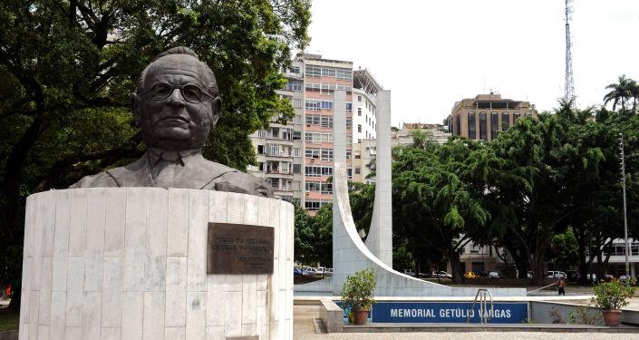 Memorial Municipal Getúlio Vargas, no Rio de Janeiro.