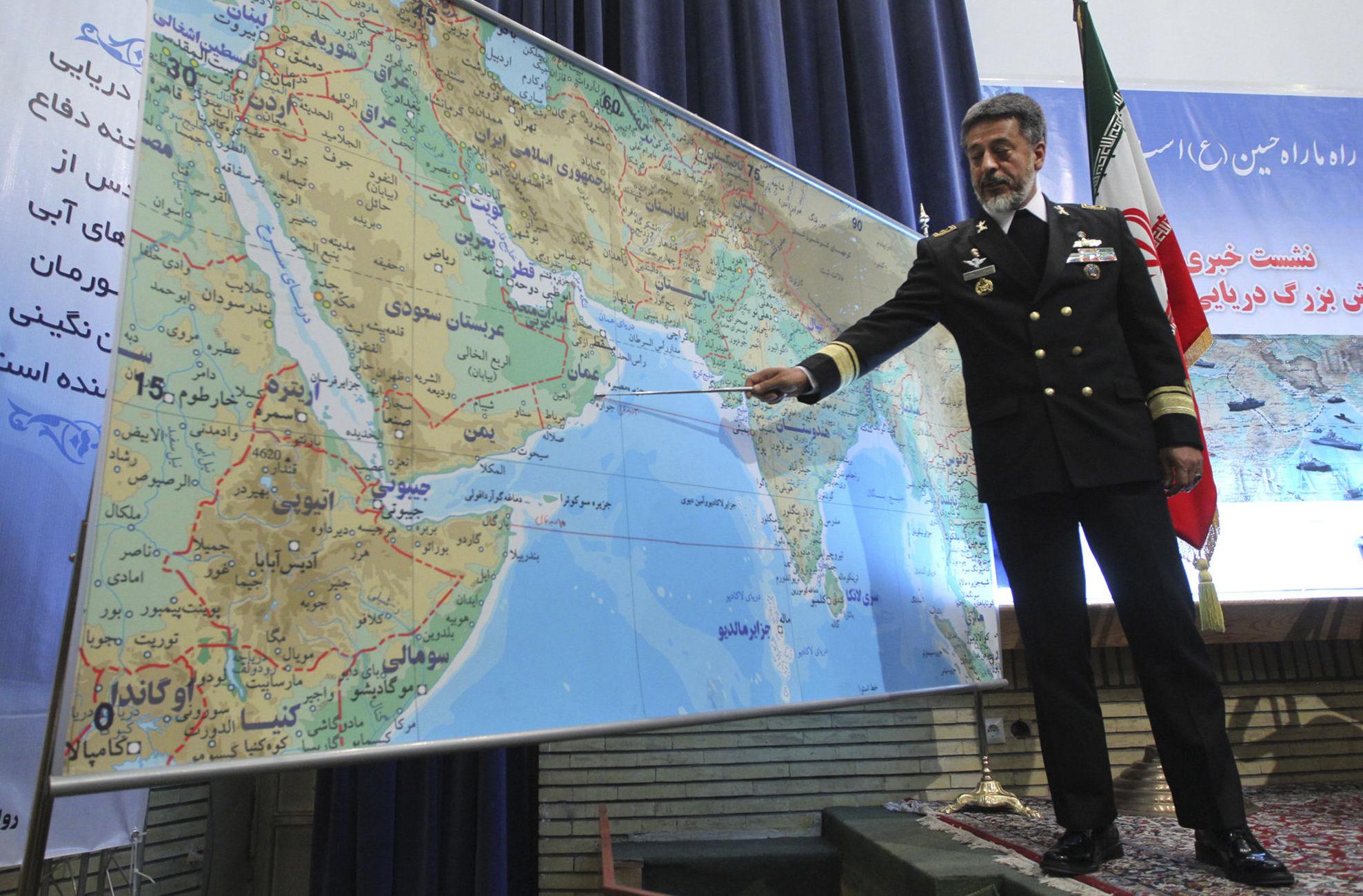Vice-chefe do Exército do Irã para assuntos de coordenação, Habibollah Sayyari