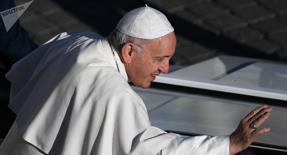 Papa Francisco no Vaticano.