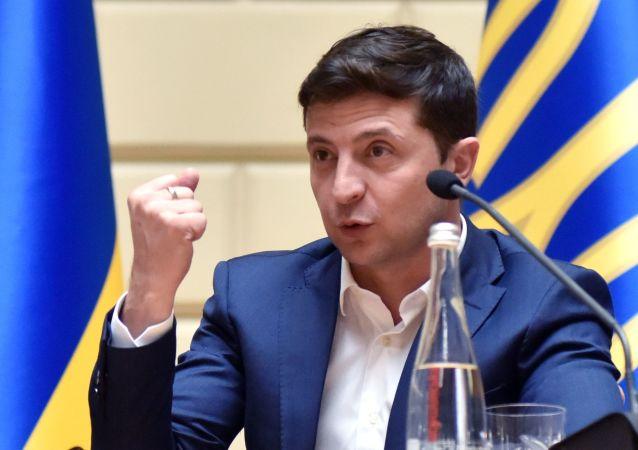 Vladimir Zelensky, presidente da Ucrânia