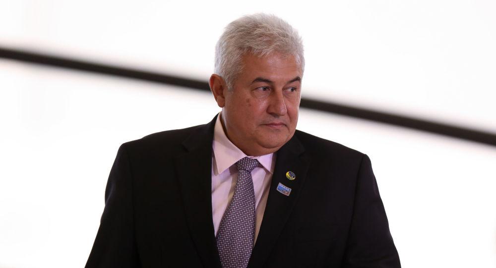 Ministro da Ciência e Tecnologia, Marcos Pontes, durante lançamento da Campanha Semana Brasil, de incentivo ao comércio, no Palácio do Planalto, em Brasília, 3 de setembro de 2019
