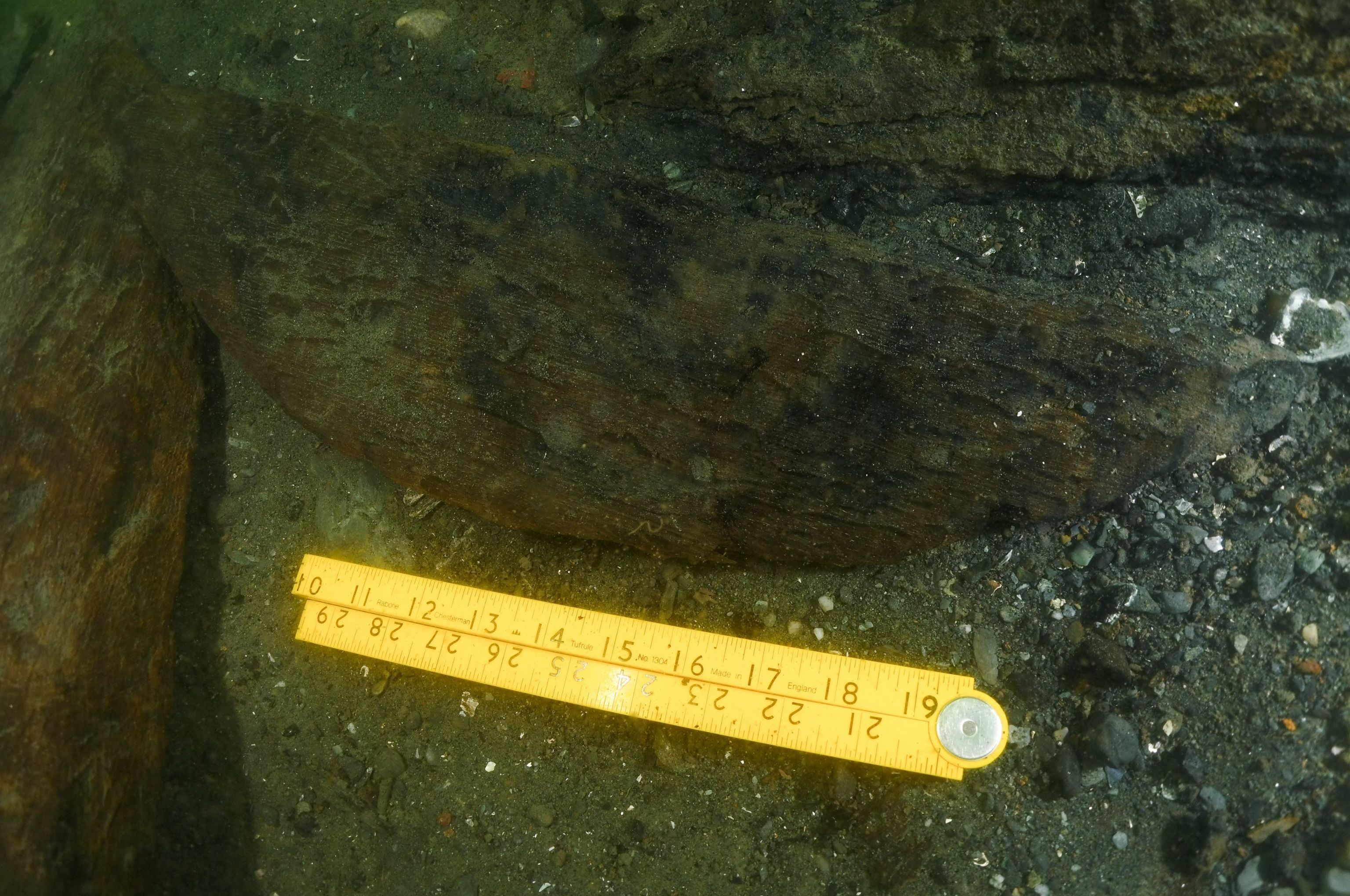 Possíveis restos do navio HMS Endeavour do capitão James Cook