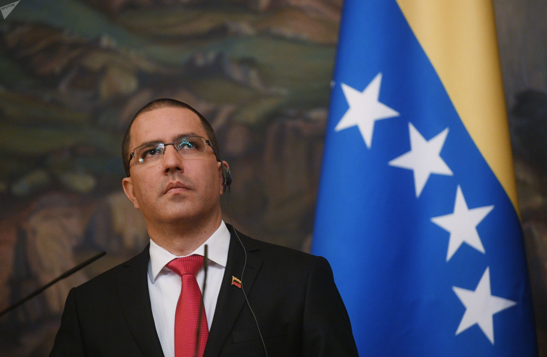 Chanceler venezuelano Jorge Arreaza