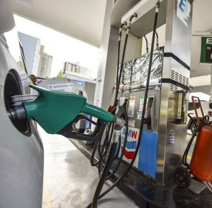 Posto de gasolina em São José dos Campos (SP)