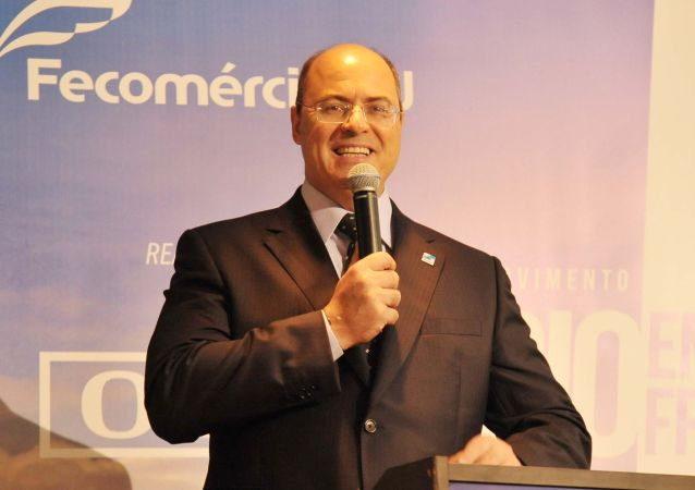 Governador do Rio, Wilson Witzel, durante evento na capital fluminense
