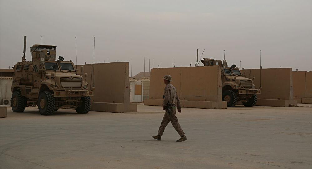 Militar americano em base norte-americana na Síria