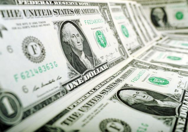 Nota de 1 dólar norte-americano