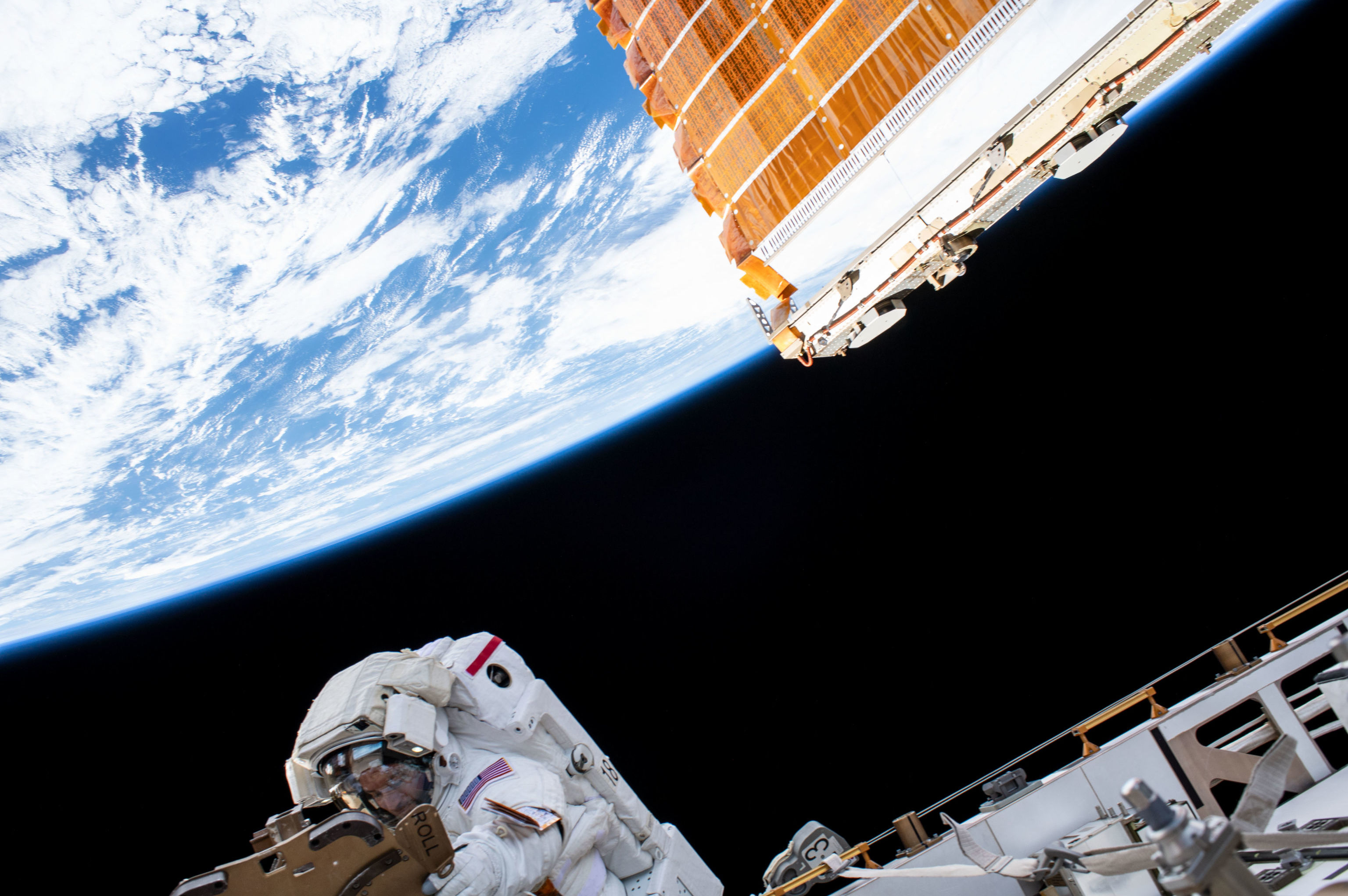 Astronauta da NASA Andrew Morgan