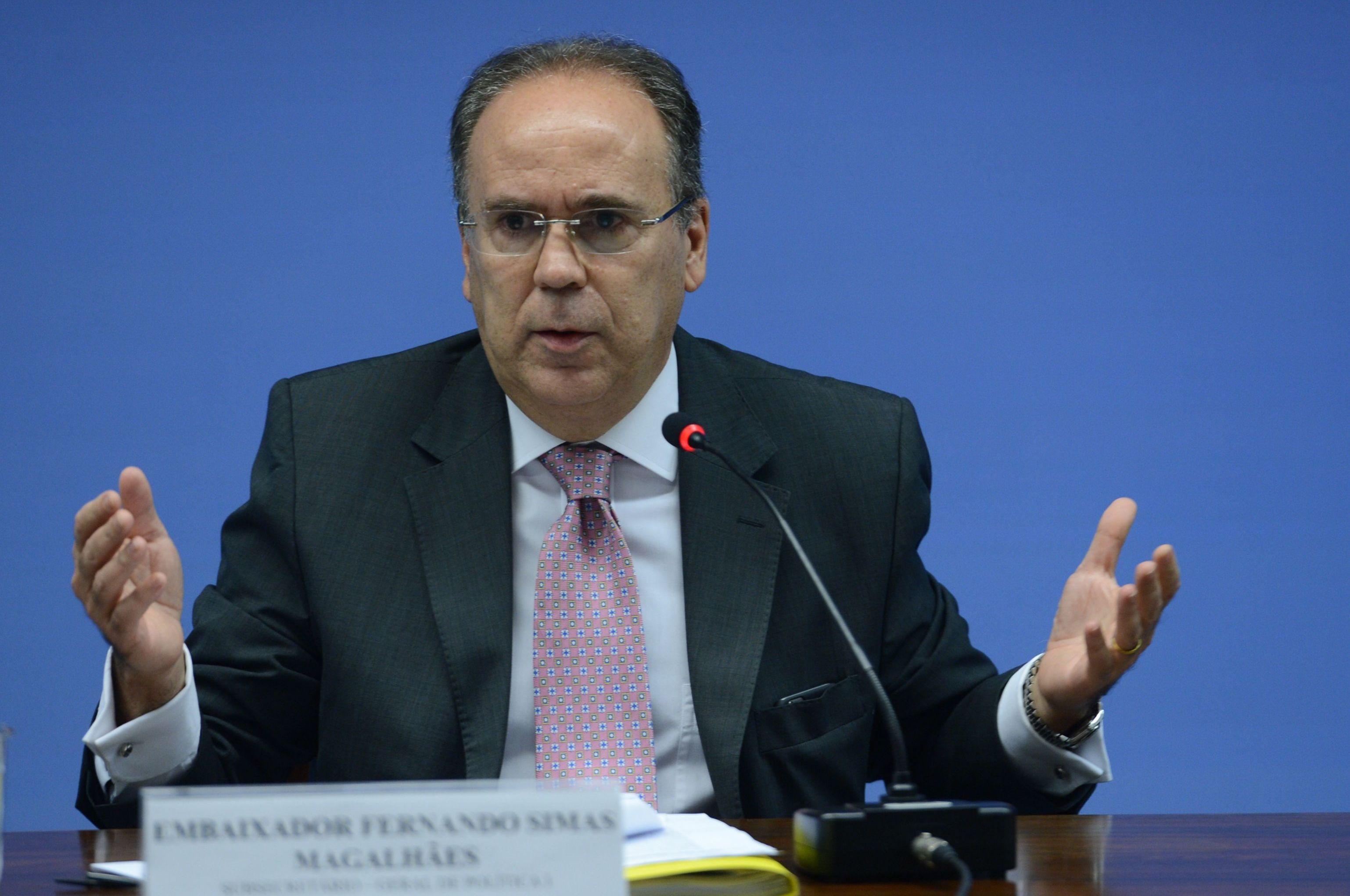 Representante do Brasil na OEA, Embaixador Fenando Simas Magalhães, manifestou apoio ao pleito da organização pela realização de segundo turno