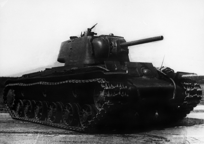 Tanque KV-1 que participou da 2ª Guerra Mundial