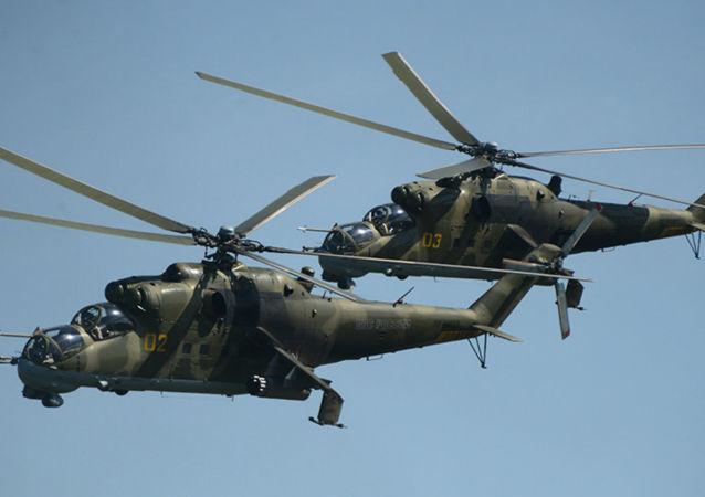 Helicópteros Mi-24