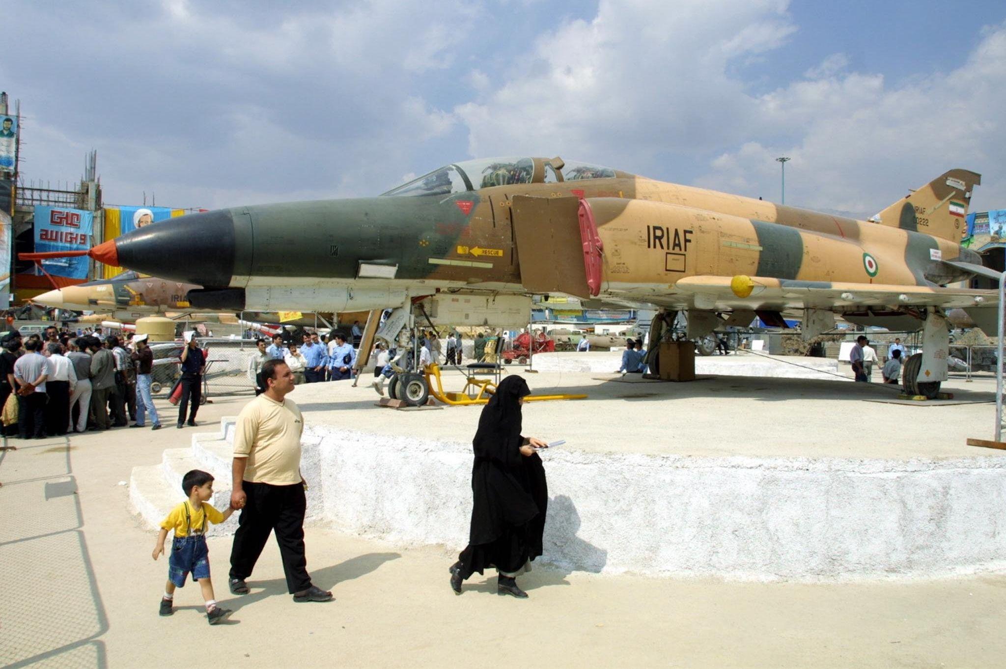 Caça Phantom F-4 do Irã