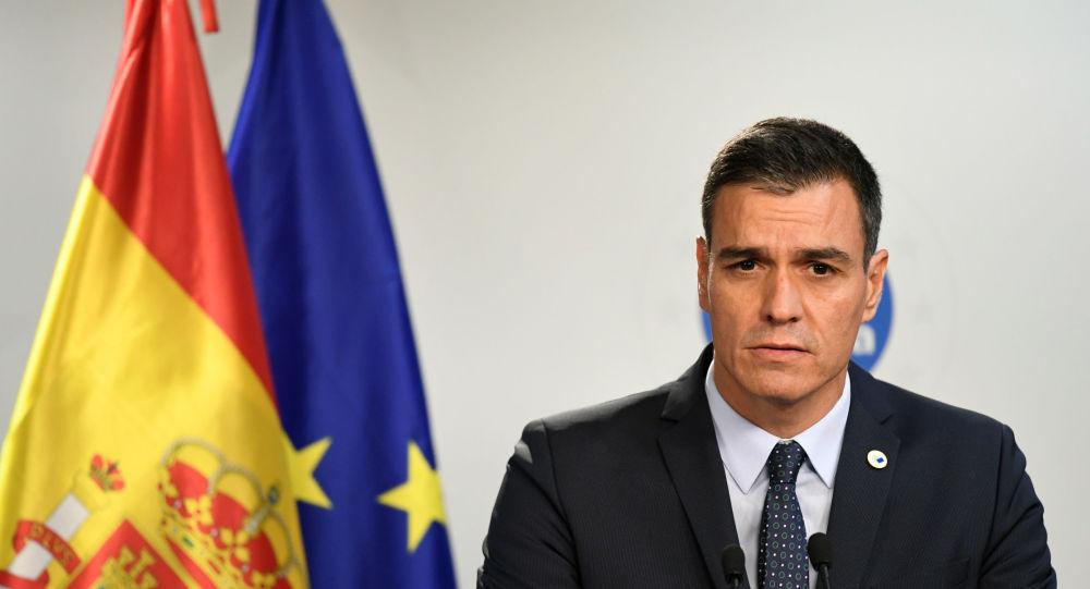 Pedro Sánchez, primeiro-ministro espanhol em exercício