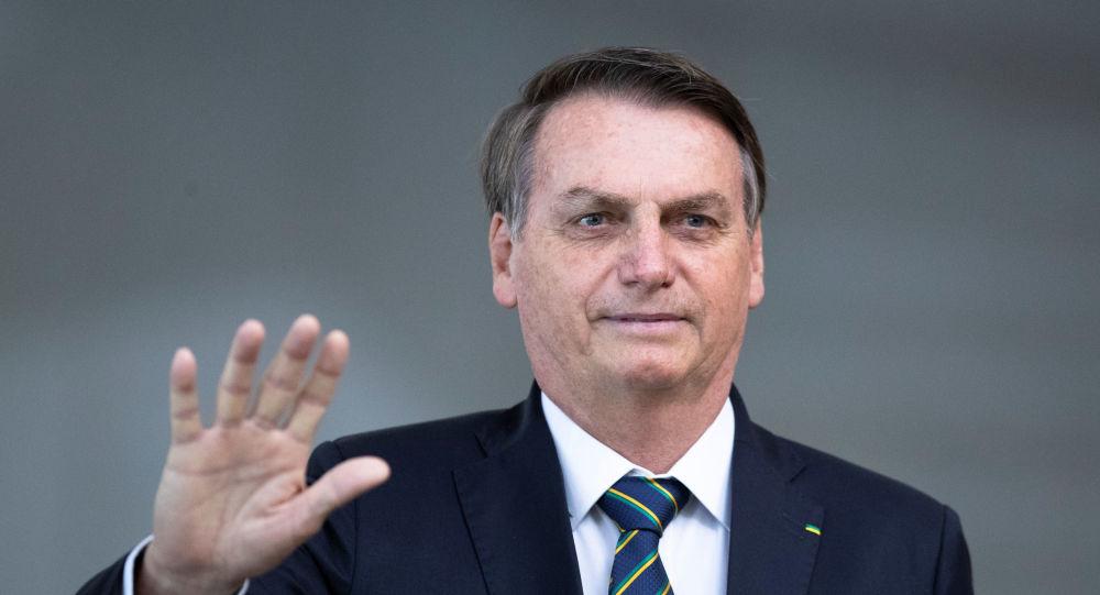 O presidente do Brasil, Jair Bolsonaro, participa da 11ª Cúpula do BRICS
