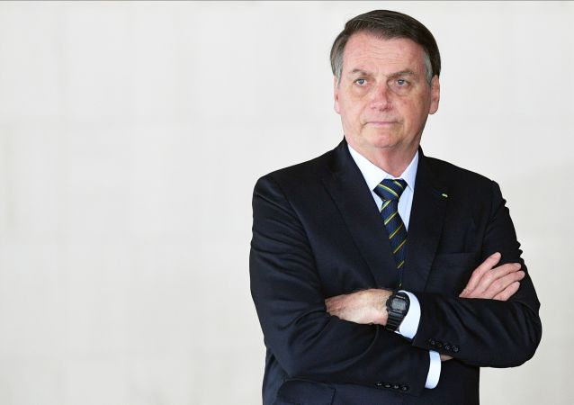 Presidente do Brasil, Jair Bolsonaro, na 11ª cúpula do BRICS