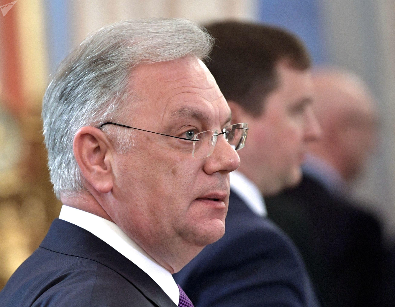 Diretor do Serviço Federal russo de cooperação técnico-militar, Dmitry Shugaev