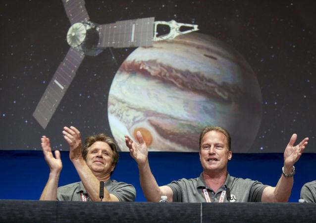 Segue missão ao planeta Júpiter