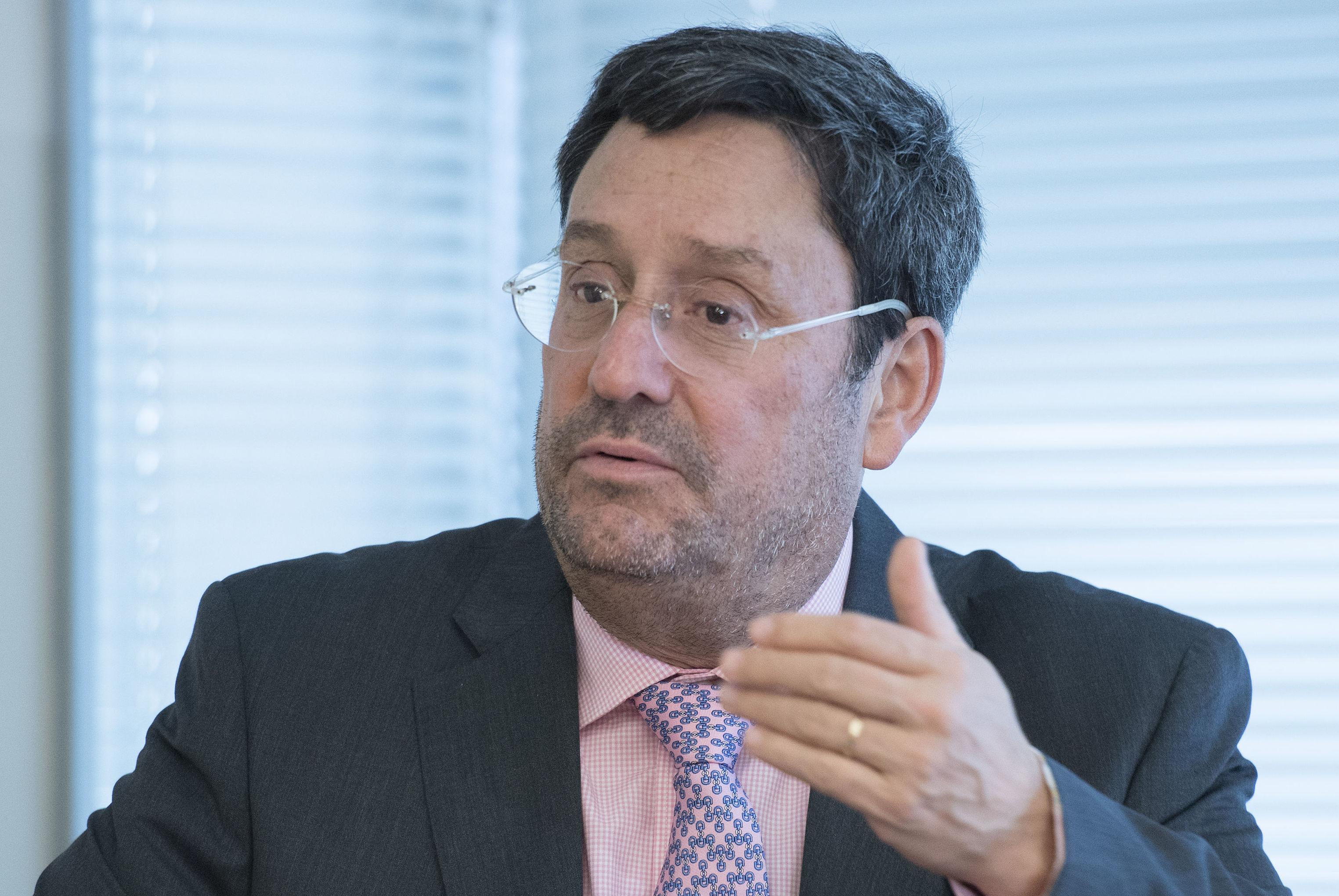 Embaixador da Colômbia em Washington conversa com repórteres (foto de arquivo)