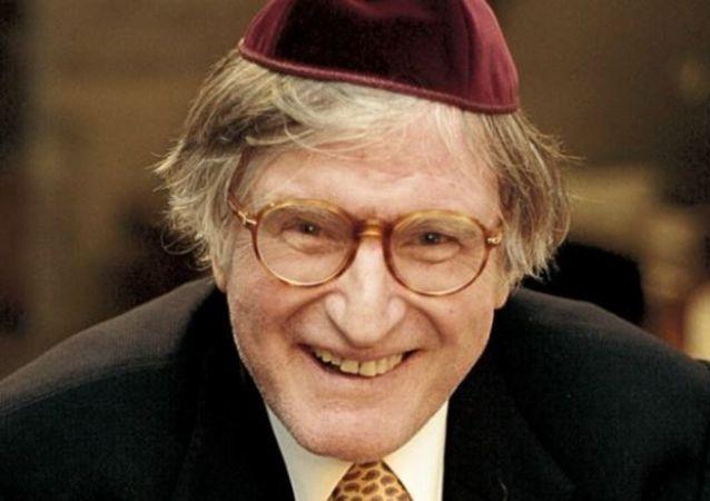 Rabino Henry Sobel, importante liderança no Brasil