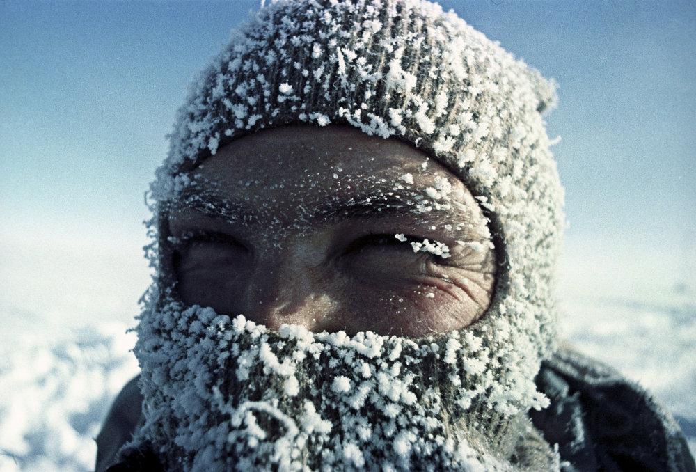 Pesquisadores da Antártida
