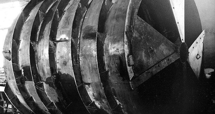 O primeiro protótipo experimental do geokhod (máquina de perfuração) ELANG-3
