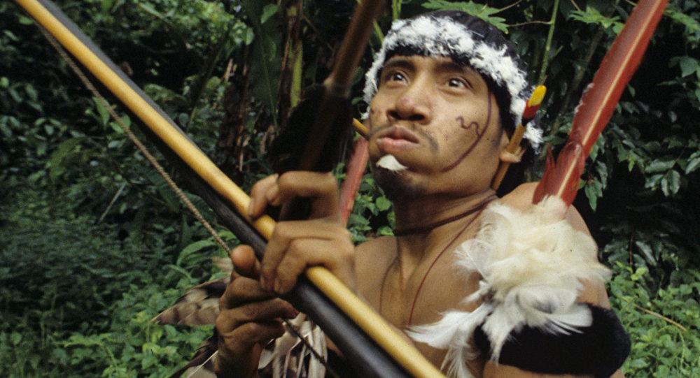 Índio da tribo ianomâmis