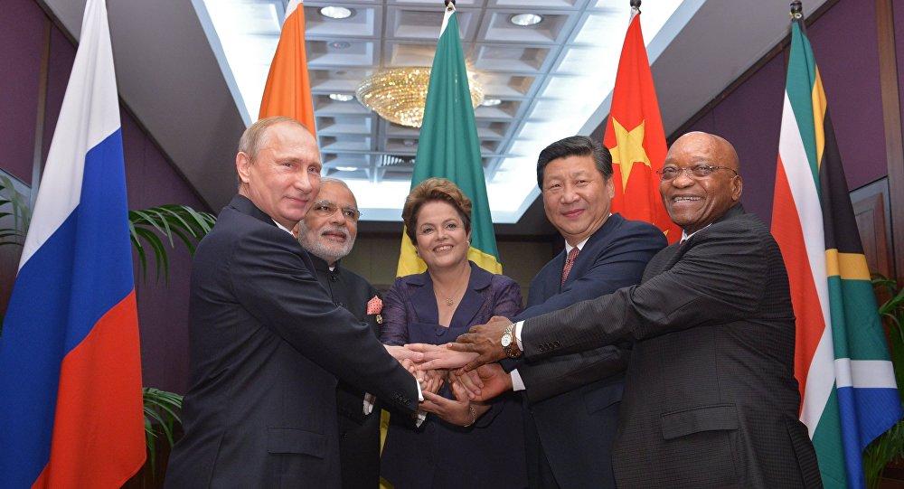 Líderes do grupo BRICS