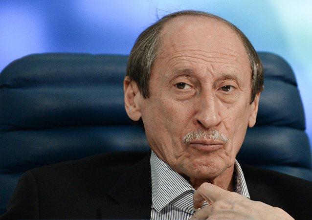 Valentin Balakhnichev, presidente da Federação Russa de Atletismo