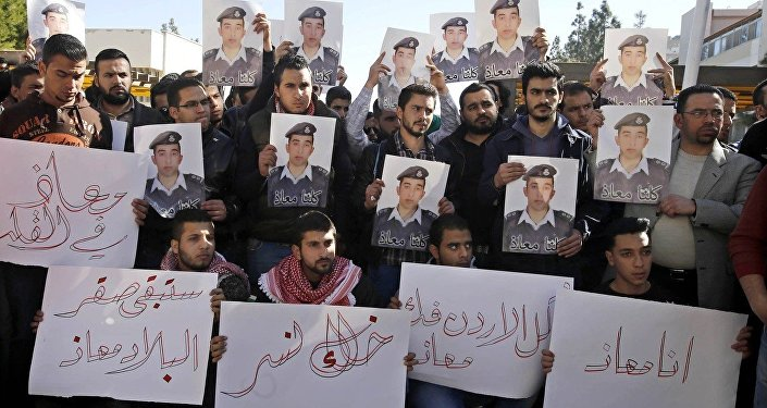 Repercussão do mundo islâmico a execução de piloto