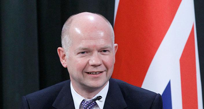 Ex-chanceler britânico William Hague