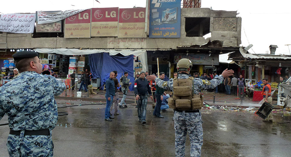 Explosão em Bagdá