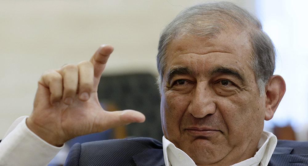 Qadri Jamil, líder do partido de oposição esquerdista na Síria Vontade Popular