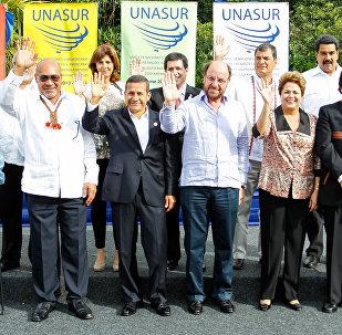 Líderes da Unasul