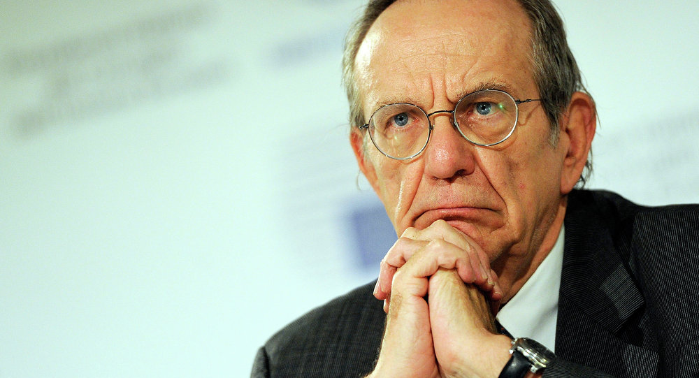Ministro das Finanças da Itália, Pier Carlo Padoan