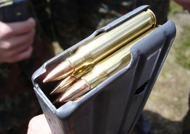 Cartuchos 5.56×45mm (imagem referencial)