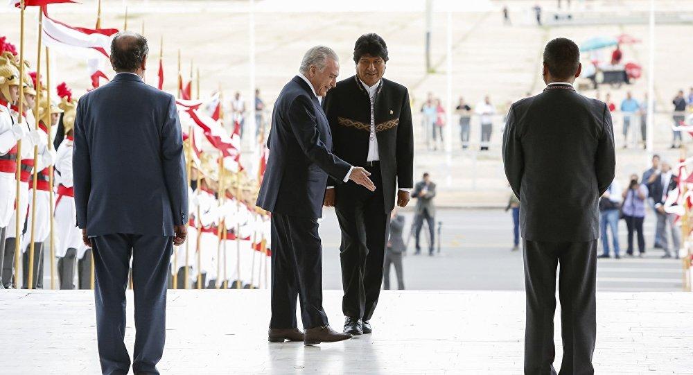 Brasil e Bolívia assinam acordos de cooperação