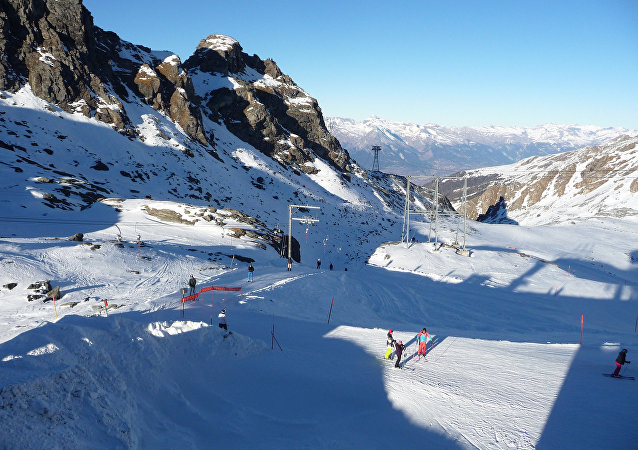 Montanhas na Suíça